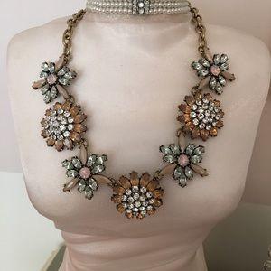 Brand new jeweled necklace.